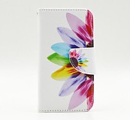 Beautiful Petals Pattern PU Leather Full Body Case with Stand and Card Holder for Samsung Galaxy A3