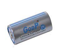GODP 3.7V  CR123A Rechargeable Li-ion Battery
