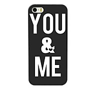 You & Me Design Hard Case for iPhone 4/4S
