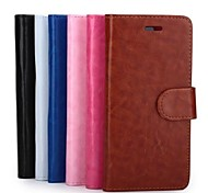 Crazy Horse Pattern Senior PU Leather Business Style Full Body Case for iPhone 6 (Assorted Colors)