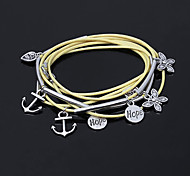 Eruner®3 In 1 Bracelets Or Necklace Or Anklet(Yellow)