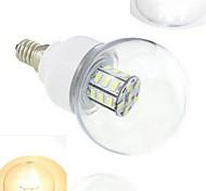 7W E14 LED Kugelbirnen 27 SMD 5730 648 lm Warmes Weiß / Kühles Weiß DC 24 V 1 Stück