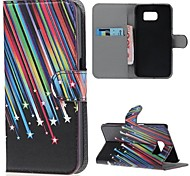 Samsung Handy - Samsung Samsung Galaxy S6 - Hüllen (Full Body) - Grafik/Cartoon ( Multi-color , PU Leder )
