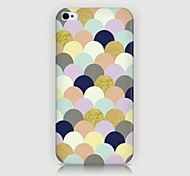 Dots Pattern Back Case for iPhone4/4S