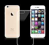 Solid Color Transparent Ultra Slim TPU for iPhone 6 Plus(Assorted Colors)
