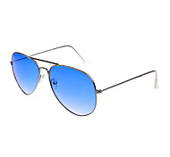 100% UV Aviator Alloy Retro Sunglasses