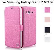 Teléfono Móvil Samsung - Carcasas de Cuerpo Completo/Fundas con Soporte - Color Sólido - para Samsung Gran Galaxy 2 G7106 ( Negro/Blanco/Rosa/Dorado ,