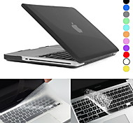 "Hat-Prince Matte Hard Protective PC Full Body Case and Keyboard Film for MacBook Pro 13.3"" / 15.4"" (Assorted Colors)"