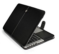 "Protective PU Leather Flip Open Case for MACBOOK PRO Retina 15.4""(Assorted Colors)"