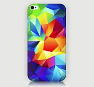 3D Diamond Pattern Back Case for iPhone4/4S