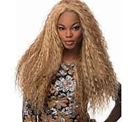 High Quality Fashion High Quality Synthetic Wig High Temperature Wire Golden Curls