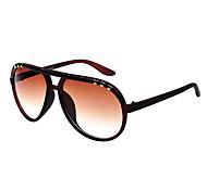 100% UV Aviator PC Retro Sunglasses