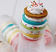 Round Push Up Pop Cake Container