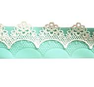accessori del fiore del merletto istantaneo della torta stampo in silicone della muffa strumenti di cottura della cucina decorazioni per torte