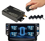 Car TPMS for Car DVD Player,Car Tyre Pressure Monitoring System,Auto TPMS 4 Internal Sensors Tyre Pressure TPMS PSI