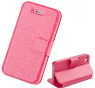 Double-sided Silk Grain Case for iPhone 4/4S (Assorted Colors)