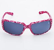 100% UV Women's Rectangle Plastic Fashion Sunglasses