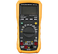 HYELEC MS86 Multifunction Digital Multimeter/Auto and Manual Range/Temperature Test/Relative Ammeter Multitester