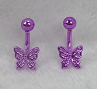 Sweety Butterfly Earrings(One Pairs)