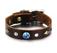 Z&X®  Men's Fashion and Personality Leather Bracelet with Restoring Ancient Bracelets