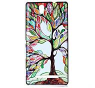 Maple Tree Pattern PC Hard Case for Sony C3
