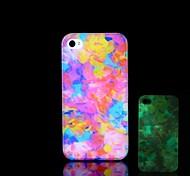 Funda Trasera - Diseño Especial/Fosforescente - para iPhone 5/iPhone 5S Plástico )