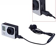 3.5mm Hands Free Computer Clip on Mini Lapel Microphone with Adapter Cable for GoPro Hero3 /3+/4