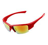 Cycling Anti-Dust Acrylic Wrap Fashion Sports Glasses(Random color)