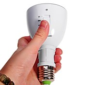 E27 Two in One Multi-function Rechargeable Emergency Light Mini Flashlight 4W LED Light Bulb