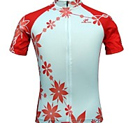 Jesocycling® Women's Short Sleeve Spring/Summer Cycling Jerseys Breathable S/M/L/XL/XXL/XXXL Size