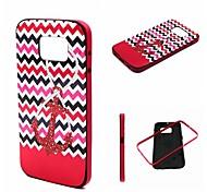 Teléfono Móvil Samsung - Cobertor Posterior - Gráfico/Diseño Especial - para Samsung Samsung Galaxy S6 Plástico )