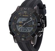 Orologio sportivo - Per uomo - Quarzo - Analogico-digitale - LED/Calendario/Resistente all'acqua