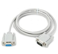 1.4M 4FT DB9 RS232 Male to Female Extension Serial Port Line for PC