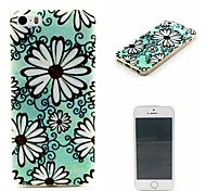Sun Flower Pattern Super Thin Soft Back Case for iPhone 5/5S