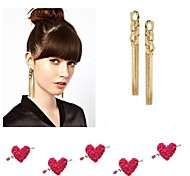 Nightclub Fashion Tide Products Gold Chain Earrings