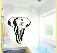 Environmental Removable Elephant PVC Wall Sticker