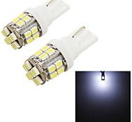 Lampe de lecture/Eclairage plaque d'immatriculation/Feux de position latéraux/Lampe de portière ( 6000K , Feux ) LED - Automatique