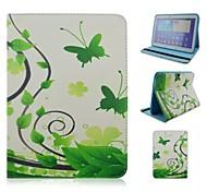 Samsung Tab. 4 10.1 T530 - Custodie integrali/Custodie con supporto - Design speciale - Tablet Samsung ( Multicolore , Cuoio/TPU )