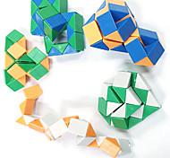 24-Section Plastic Magic Ruler (Random Color)