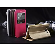 Special Design Solid Color Good Quality PU Leather Full Body Case Auto Sleep/Wake Up for Samsung A7(Assorted Colors)