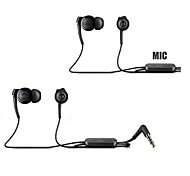 BIG D EXH300 Classic 3.5mm In-Ear Earphones with  Microphone for Samsung Sony  and Others