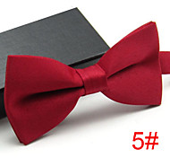 Men's Solid Party Bow Tie