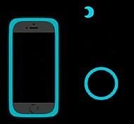 Luminous Blue Handsets Glow Bumper for iPhone 4/5/5S/6/6Plus