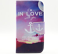 Anchors Pattern PU Leather Full Body Case for LG G3