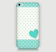 iPhone 4/4S/iPhone 4 - Cover-Rückseite - Grafisches Design/Spezielles Design/Neuartig ( Mehrfarbig , Kunststoff )