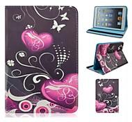 Casi Folio - Design speciale - Mela iPad mini/mini iPad 2/mini iPad 3 - DI Cuoio - Coloriassortiti