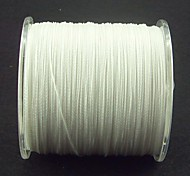 Super Strong 100% UHMWPE 4-Braid Fishing Line 300M/Reel White Color