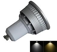 1 Stück Dimmbar LED Spot Lampen GU10 3W 280lm LM 3000-3200K/6000-6500K K 1 COB Warmes Weiß / Kühles Weiß AC 100-240 V
