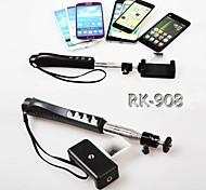 Selbsthandheld Einbeinstativ drahtlose bluetooth Schwerpunkt Fernbedienung für iphone 6/6 plus / 5 / 5s / 4 / 4s und andere