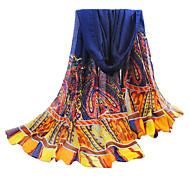 hilo azul bali bufanda de la playa de gran tamaño de las mujeres
